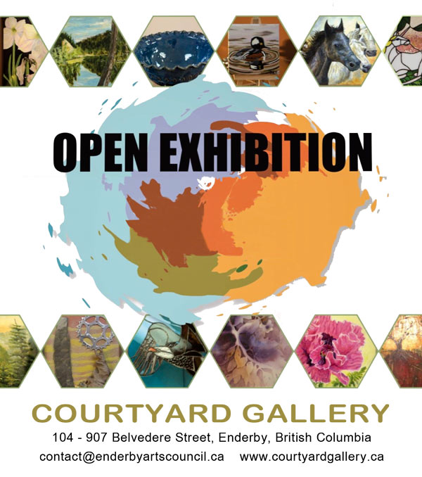 Open Exhibition poster for gallery.